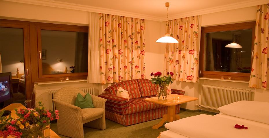 Hotel Doppelzimmer in Lech Zürs