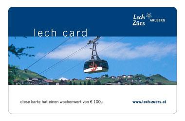 Lechcard - kostenlos im Sommer / Lech am Arlberg