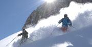Berg-Winter in Lech Zürs