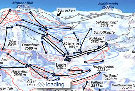 Urlaub am Arlberg - Hotel Roggal Livecams & Skikarte interactive