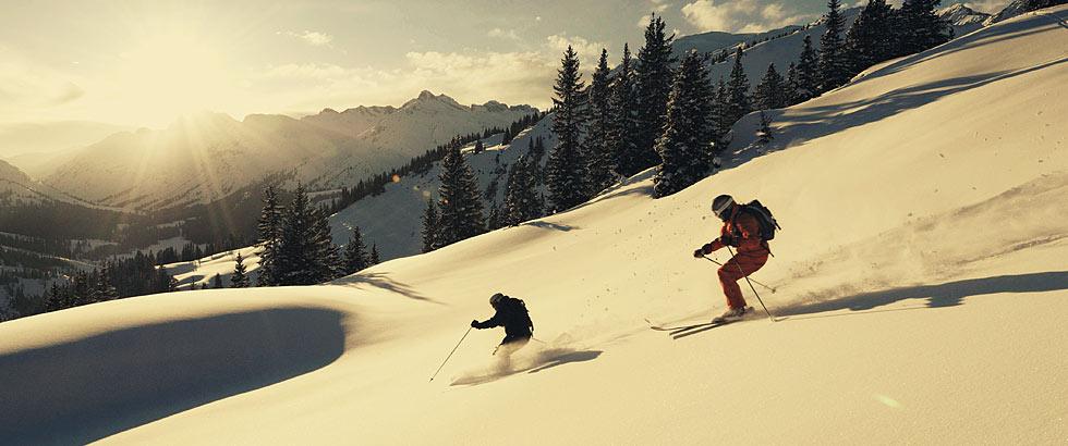 Lech Zürs Arlberg Winter Zeit