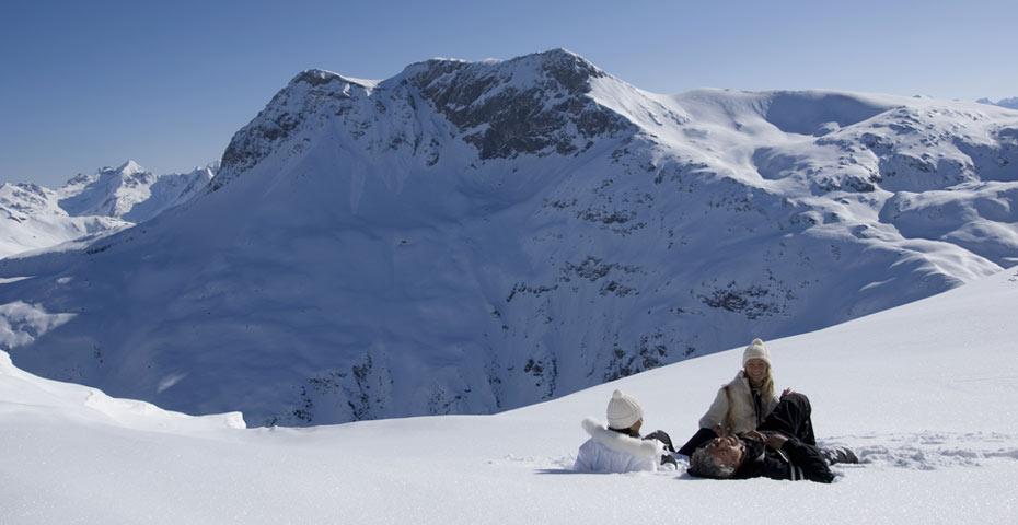 Lech Zürs Arlberg Winter Sport
