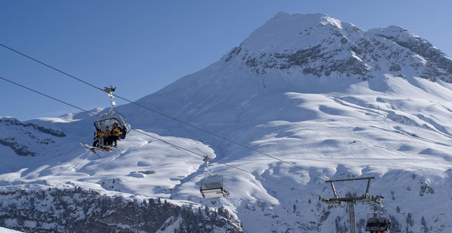 Lech Zürs Arlberg Winter Photos