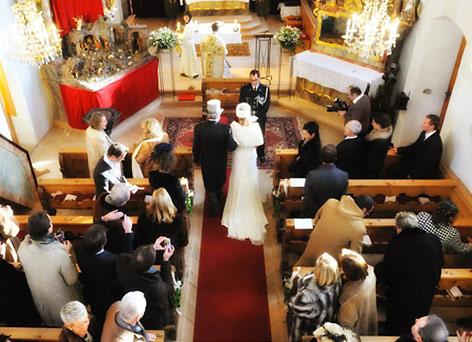 Heiraten am Arlberg - Hotel Roggal in Lech