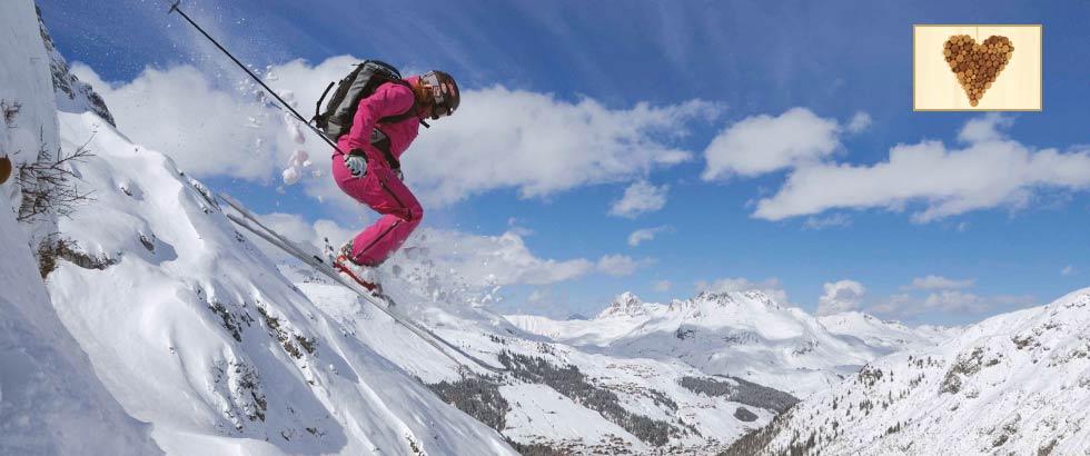 Februar Pauschalangebot im Hotel Roggal in Lech am Arlberg