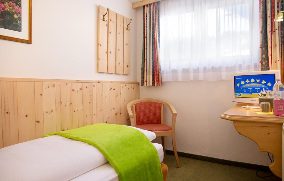 Lech Hotel Einzelzimmer