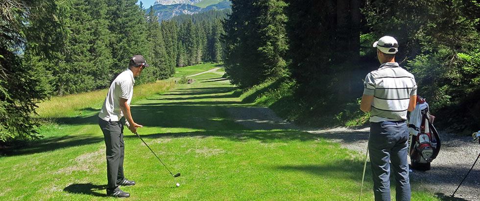 Golf Package mit Platzreife in Lech