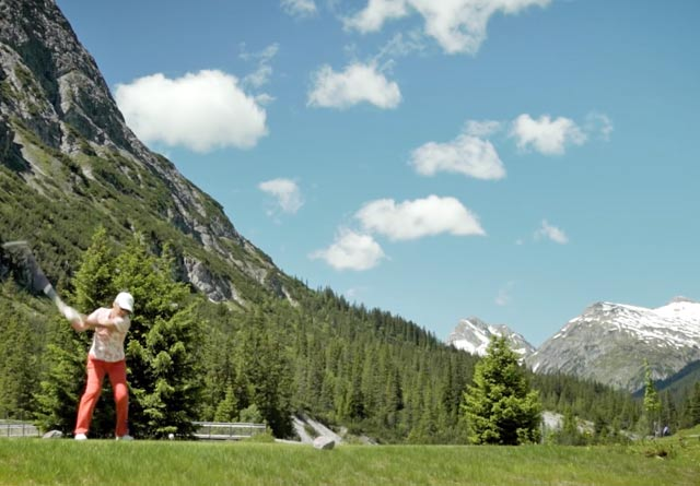 """GOLF MEETS MOUNTAIN"""