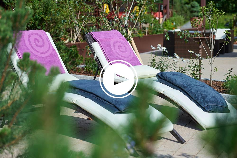 Sommerkultur in Lech - Sonne, Entspannung und Natur pur auf unserer Terrasse & Garten - VIDEO